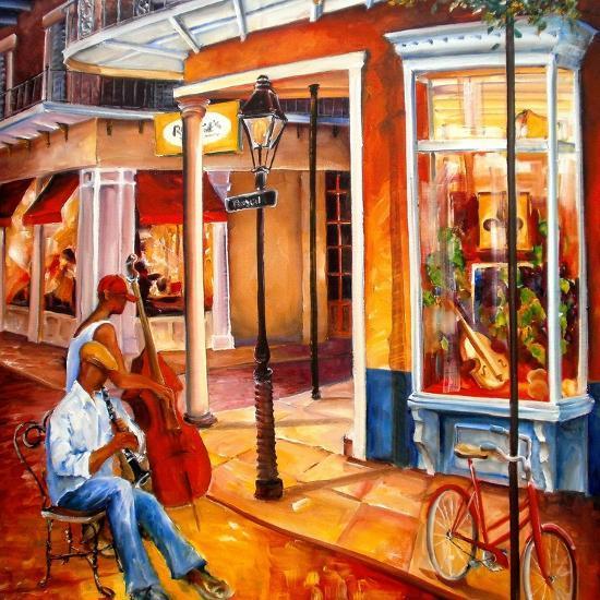 Jazz on Royal Street-Diane Millsap-Art Print