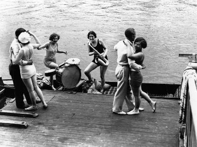 Jazz on the River--Photographic Print