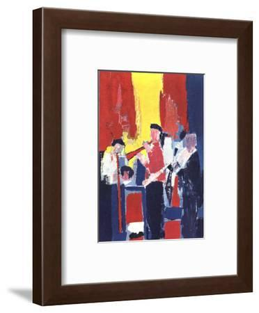 Jazz Players-Nicolas De Stael-Framed Collectable Print