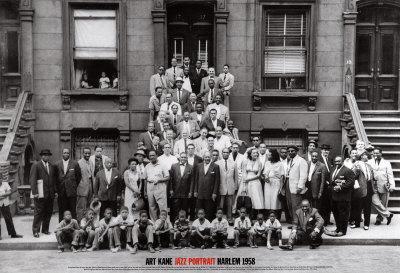 Jazz Portrait - Harlem, New York, 1958-Art Kane-Art Print