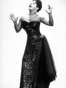 Jazz, Rhythm and Blues and Gospel Singer Ruth Brown Here C. 1958