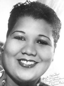 Jazz Singer Velma Middleton (1917-1961), Here in the 40's
