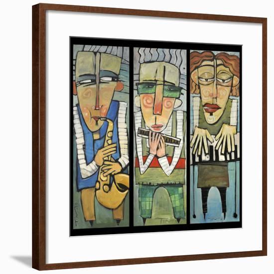 Jazz Trio-Tim Nyberg-Framed Giclee Print