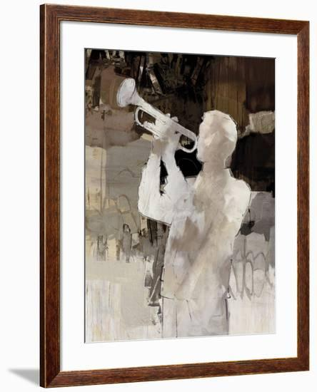 Jazz Trumpet-Mark Chandon-Framed Giclee Print