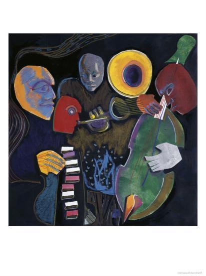 Jazz Velvet-Gil Mayers-Giclee Print