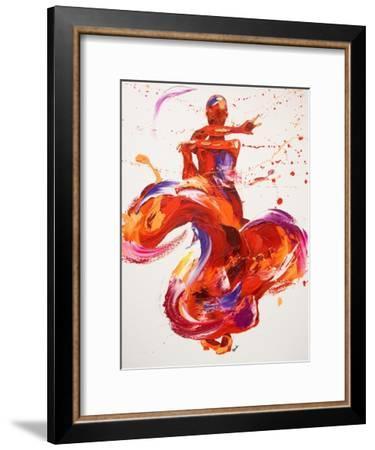 Jazz-Penny Warden-Framed Giclee Print