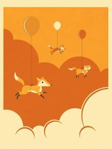 Flock of Foxes by Jazzberry Blue