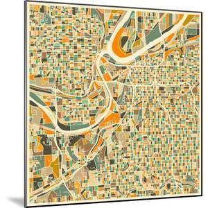 Kansas City Map by Jazzberry Blue