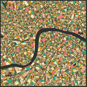 London Map by Jazzberry Blue