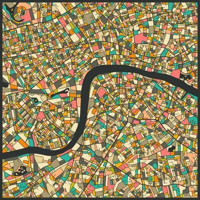 Maps of London artwork for sale Posters and Prints at Artcom