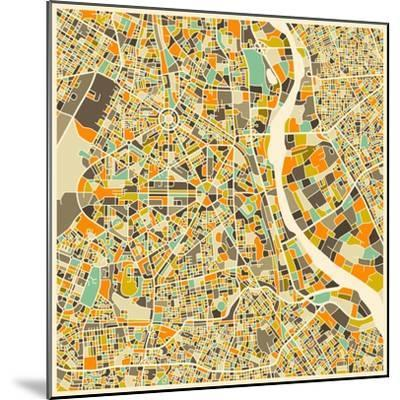 New Delhi Map by Jazzberry Blue