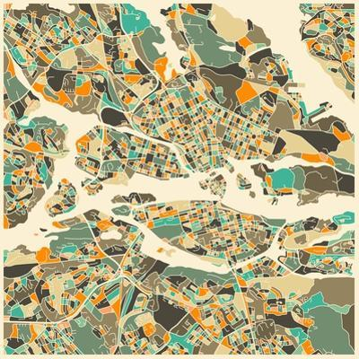 Stockholm Map by Jazzberry Blue