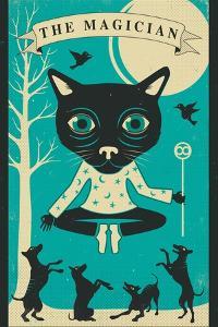 Tarot Card Cat: The Magician by Jazzberry Blue