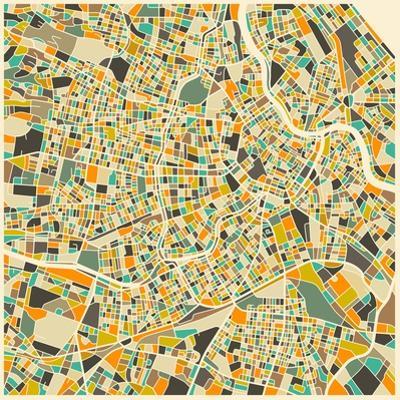 Vienna Map by Jazzberry Blue