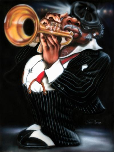 Jazzman Papa Joe-Leonard Jones-Art Print