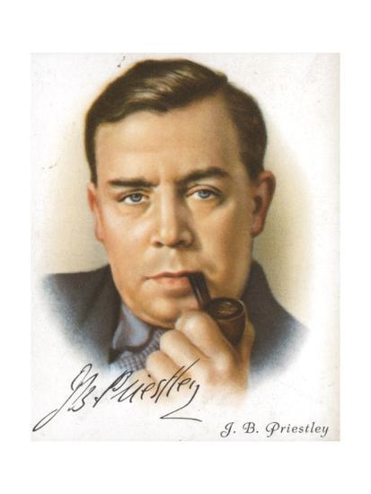 Jb Priestley, British Novelist, Playwright, Essayist and Broadcaster, C1927--Giclee Print