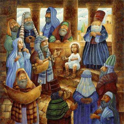 JC in Temple-Bill Bell-Giclee Print