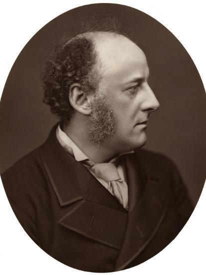 Je Millais, Ra, British Artist and Founder Member of the Pre-Raphaelite Brotherhood, 1876-Lock & Whitfield-Photographic Print