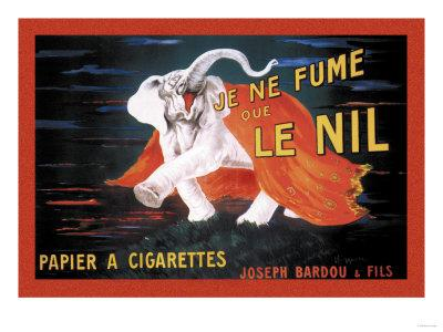 Je Ne Fume Que le Nil--Art Print