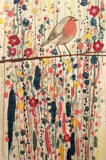 Je Ne Suis Pas Qu'un Oiseau-Sylvie Demers-Giclee Print