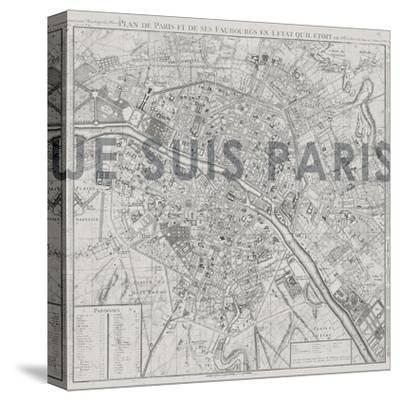 Je Suis Paris - Map of Paris, France