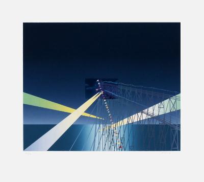 Je vous ?cris de Coney Island-Jean Michel Folon-Premium Edition