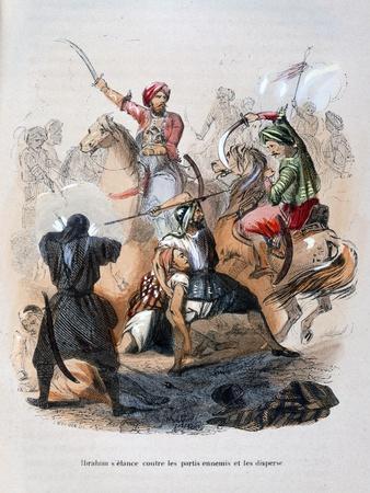 Ibrahim Pasha Fighting the Wahabis, Saudi Arabia, 1811-1818