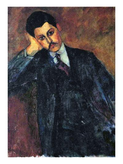 Jean Alexandre, 1909-Amedeo Modigliani-Giclee Print