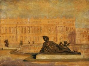 The Water Parterre at Versaille by Jean Altamura