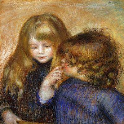 Jean and Coco; Jean et Coco, c.1902-Pierre-Auguste Renoir-Giclee Print