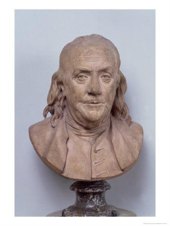 Bust of Benjamin Franklin (1706-90) 1778