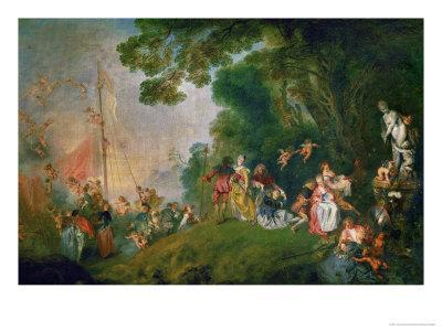 Embarkation for the Island of Cythera, 1718