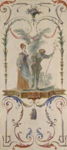 L'Enjôleur by Jean Antoine Watteau