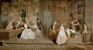 L'Enseigne De Gersaint, 1720 by Jean Antoine Watteau