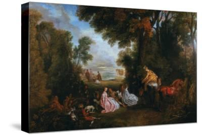 The Halt During the Chase (Rendez-Vous De Chasse), 1717-1720