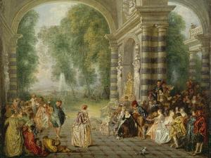 The Pleasures of the Ball, 1715/16 by Jean Antoine Watteau