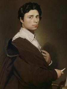Autoportrait à l'âge de 24 ans by Jean-Auguste-Dominique Ingres