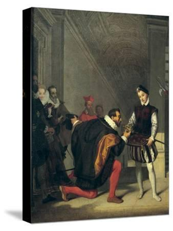Don Pedro of Toledo Kissing the Sword of Henri IV of France