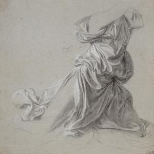 Etude de draperie by Jean-Auguste-Dominique Ingres