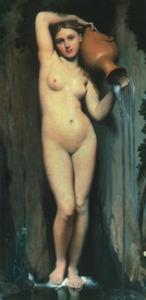 Ingres: The Spring, 1856 by Jean-Auguste-Dominique Ingres