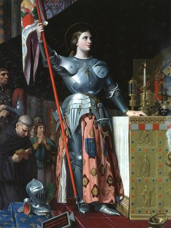 Joan of Arc at the Coronation of Charles VII in the Cathedral at Reims, 1429