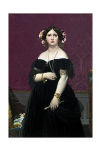 Madame Moitessier by Jean-Auguste-Dominique Ingres