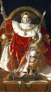 Napoleon on His Imperial Throne, 1806 by Jean-Auguste-Dominique Ingres