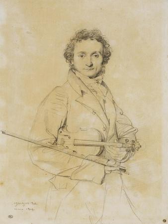 Niccolo Paganini, Violinist, 1819
