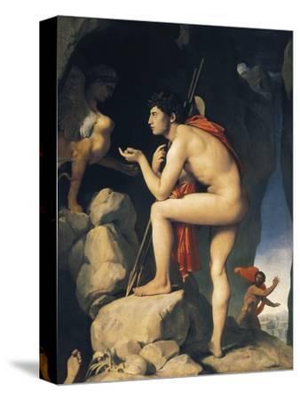 Oedipus and Sphinx (Edipe Explique L'Énigme Du Sphinx)