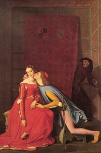 Paolo and Francesca by Jean-Auguste-Dominique Ingres