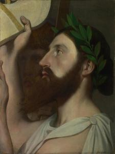 Pindar and Ictinus, Between 1830 and 1867 by Jean-Auguste-Dominique Ingres