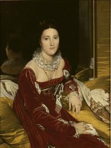 Portrait de Mme de Senonnes by Jean-Auguste-Dominique Ingres