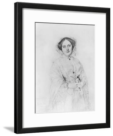 Portrait of Madame Ingres, 1852