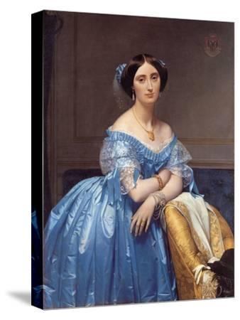 Portrait of the Princesse De Broglie, 1853